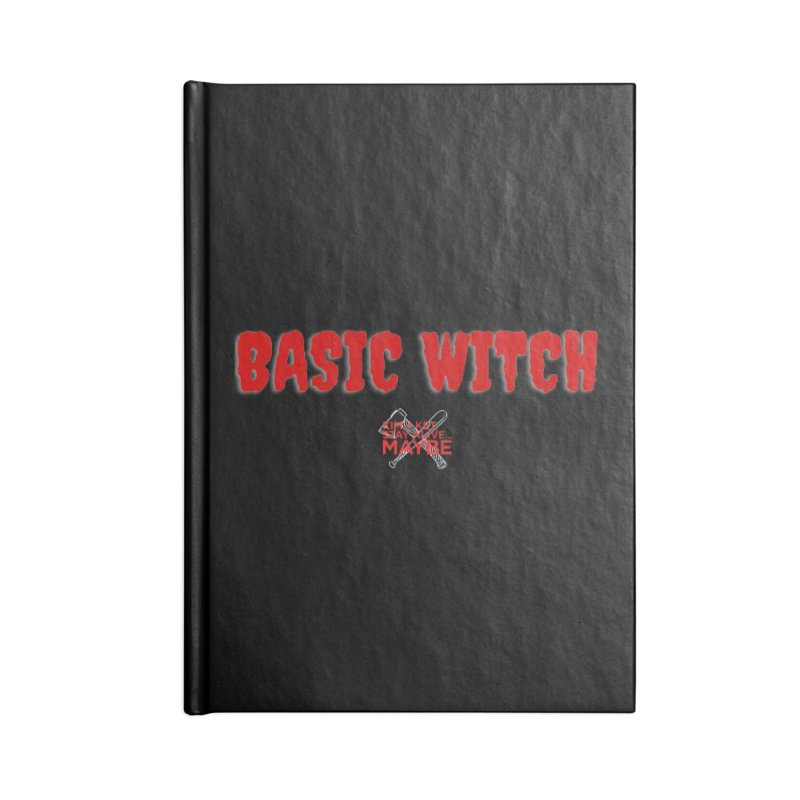 Basic Witch 1 Accessories Notebook by Kim and Ket Stay Alive... Maybe Podcast