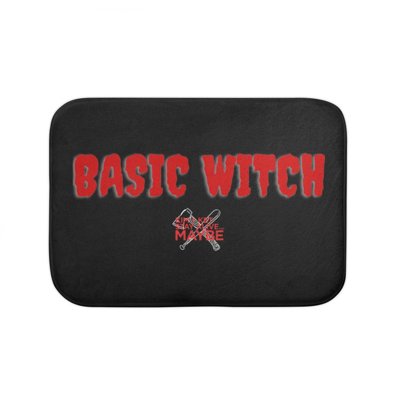 Basic Witch 1 Home Bath Mat by Kim and Ket Stay Alive... Maybe Podcast