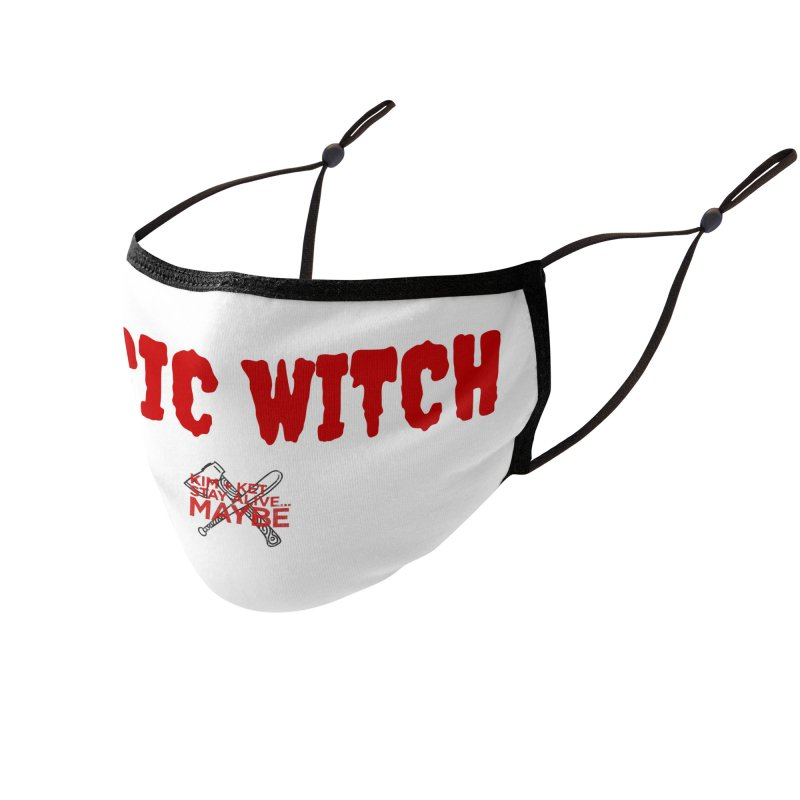 Basic Witch 3 Accessories Face Mask by Kim and Ket Stay Alive... Maybe Podcast