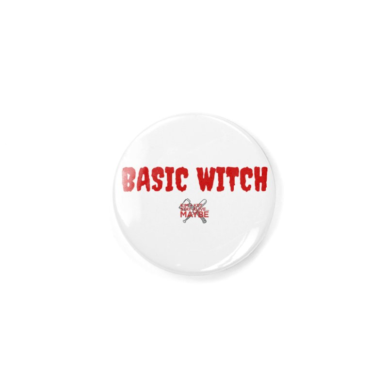 Basic Witch 3 Accessories Button by Kim and Ket Stay Alive... Maybe Podcast