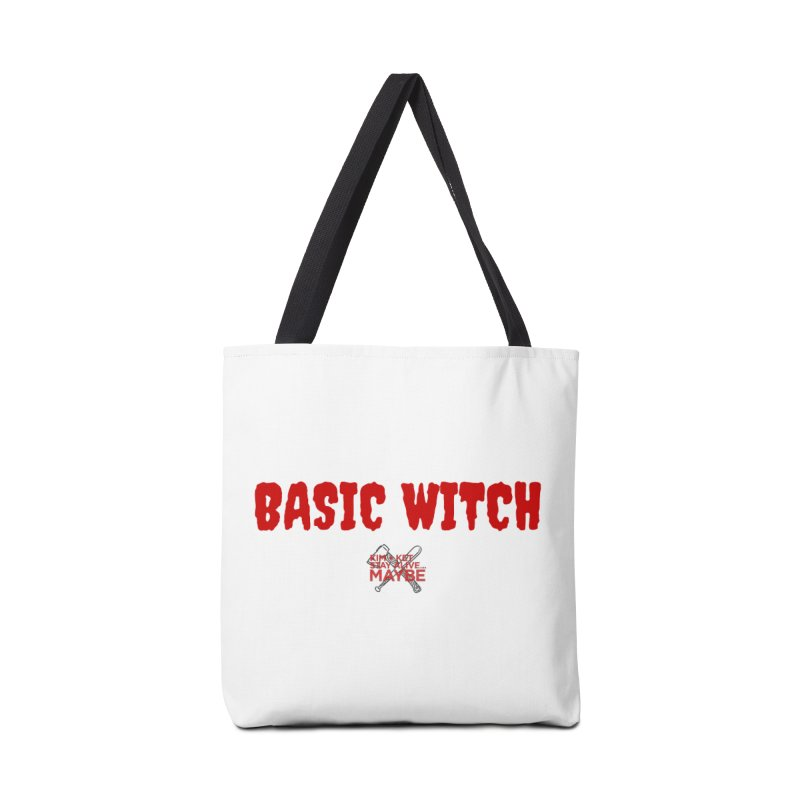 Basic Witch 3 Accessories Bag by Kim and Ket Stay Alive... Maybe Podcast
