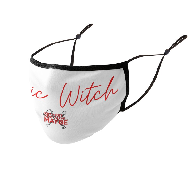 Basic Witch 4 Accessories Face Mask by Kim and Ket Stay Alive... Maybe Podcast