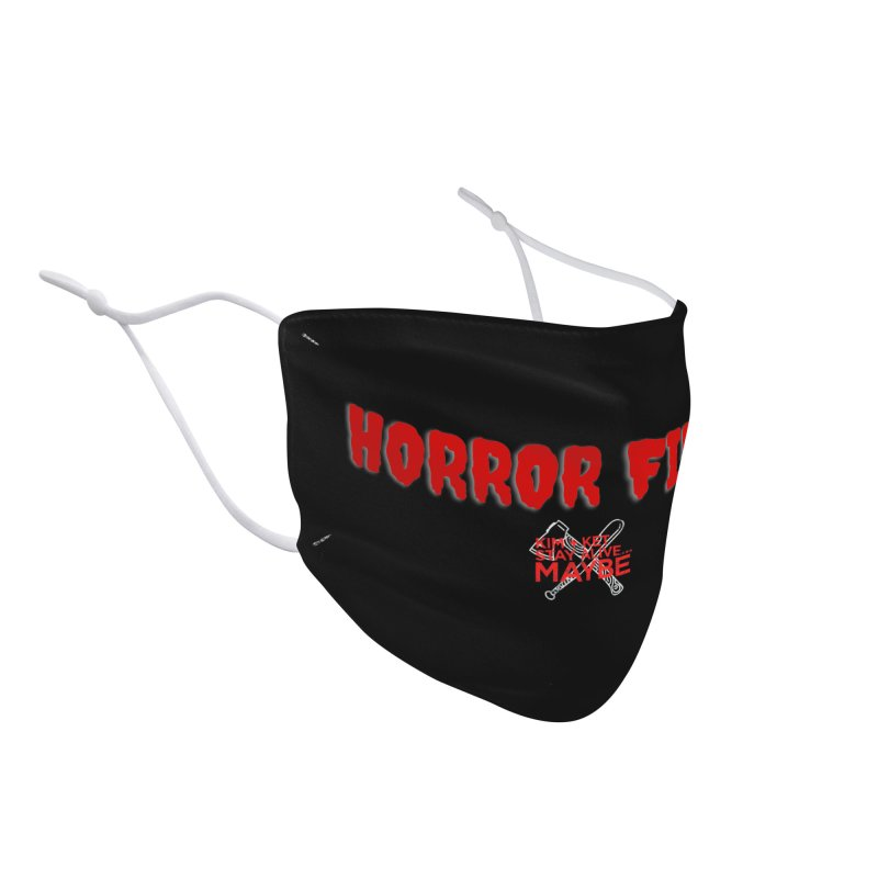 Horror Fiend 1 Accessories Face Mask by Kim and Ket Stay Alive... Maybe Podcast