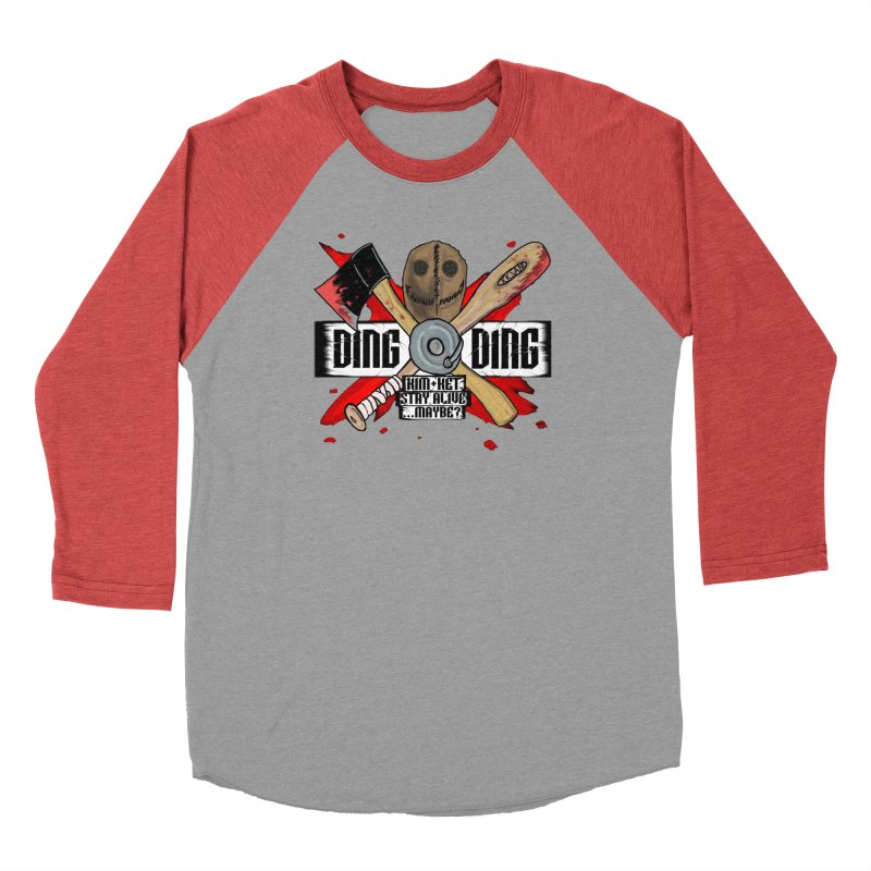 Ding Ding! Men's Longsleeve T-Shirt by Kim and Ket Stay Alive... Maybe Podcast