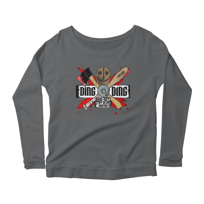 Ding Ding! Women's Longsleeve T-Shirt by Kim and Ket Stay Alive... Maybe Podcast