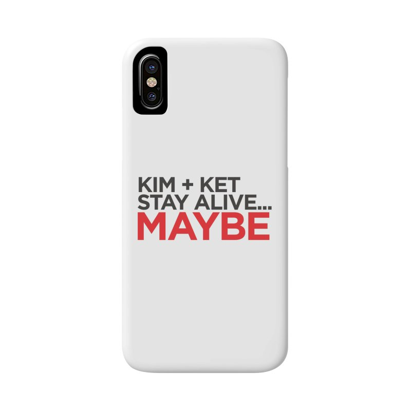 OG KKSAM Text Logo Accessories Phone Case by Kim and Ket Stay Alive... Maybe Podcast