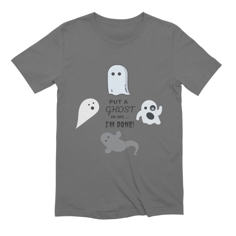 Put A Ghost In Me I'm Done KKSAM Podcast Men's Extra Soft T-Shirt by Kim and Ket Stay Alive... Maybe Podcast