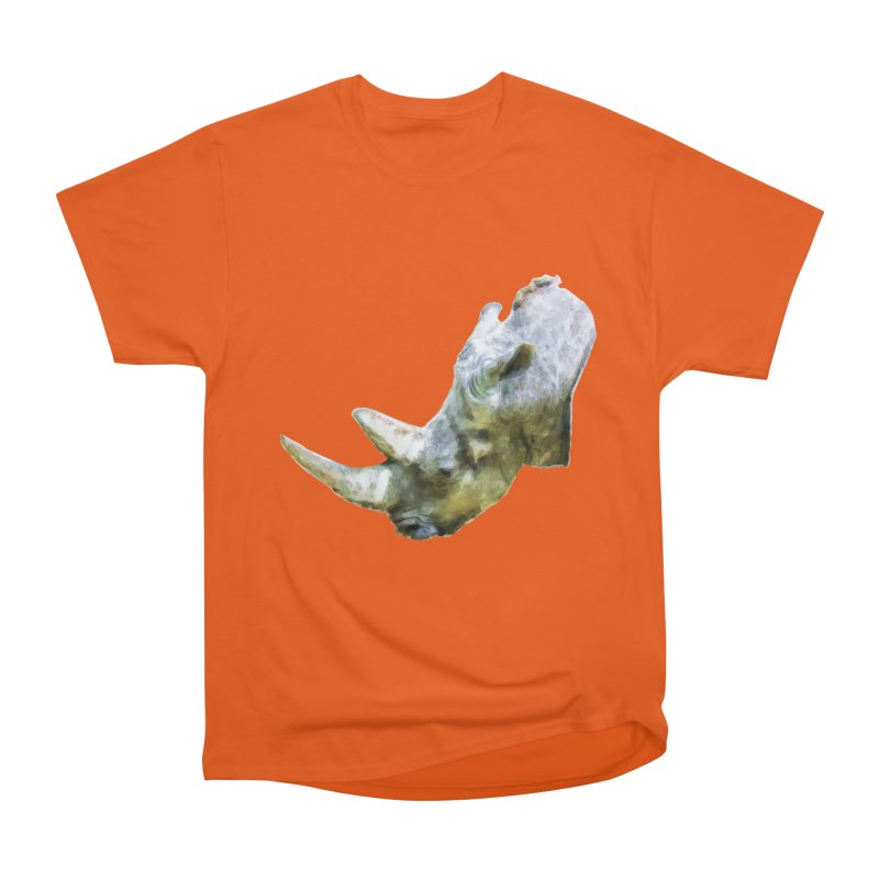 Rhinoceros Women's T-Shirt by Of The Wild by Kimberly J Tilley