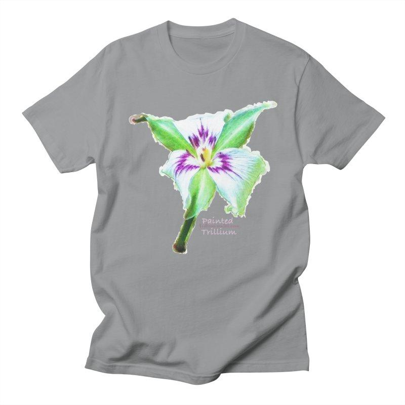 Trillium undulatum Women's T-Shirt by Of The Wild by Kimberly J Tilley