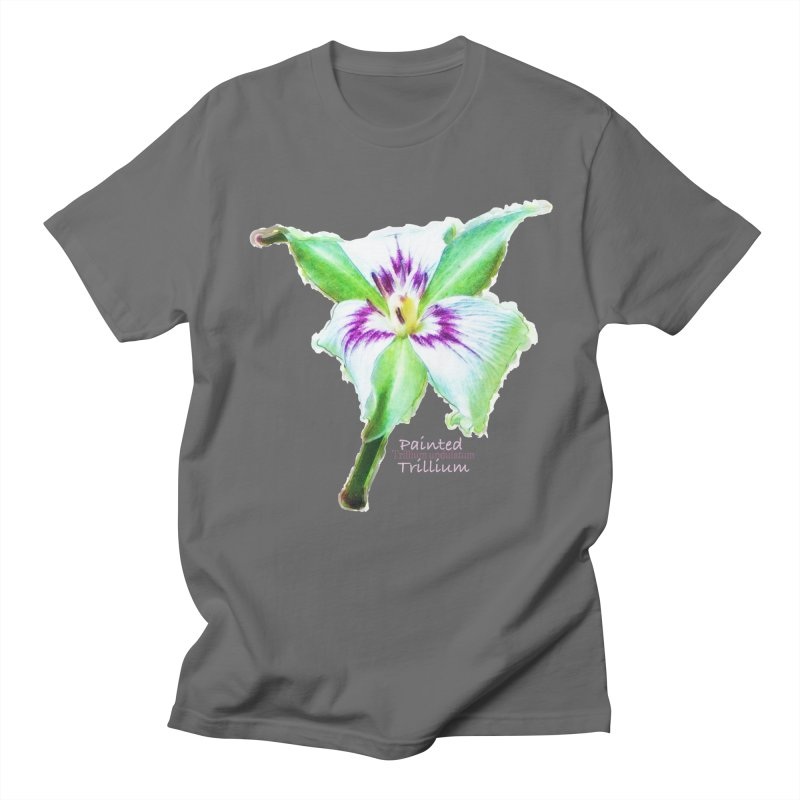 Trillium undulatum Women's T-Shirt by Of The Wild by Kimberly J Tilley
