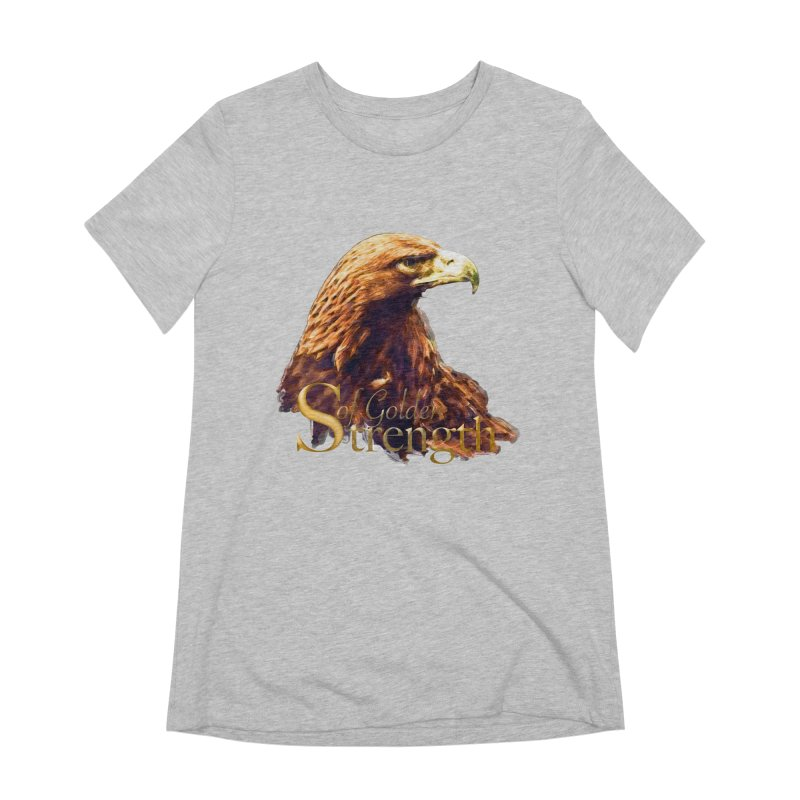 Strength Women's Extra Soft T-Shirt by Of The Wild by Kimberly J Tilley