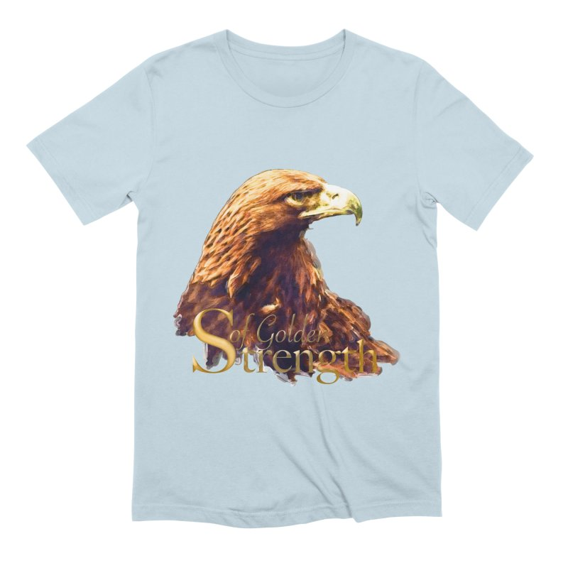 Strength Men's Extra Soft T-Shirt by Of The Wild by Kimberly J Tilley