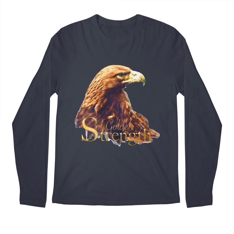 Strength Men's Regular Longsleeve T-Shirt by Of The Wild by Kimberly J Tilley