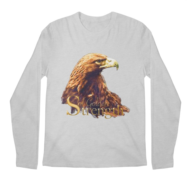 Strength Men's Longsleeve T-Shirt by Of The Wild by Kimberly J Tilley