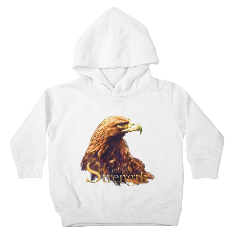 Strength Kids Toddler Pullover Hoody by Of The Wild by Kimberly J Tilley