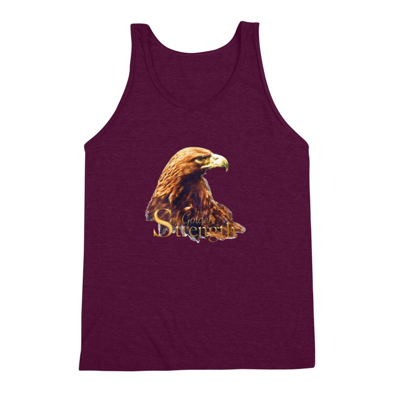 Strength Men's Triblend Tank by Of The Wild by Kimberly J Tilley