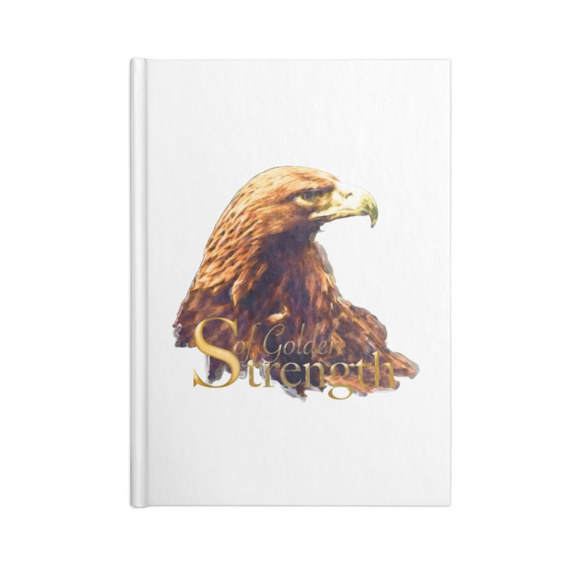 Strength Accessories Blank Journal Notebook by Of The Wild by Kimberly J Tilley