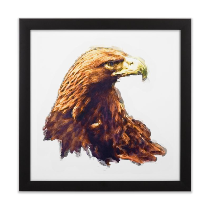 Strength Home Framed Fine Art Print by Of The Wild by Kimberly J Tilley