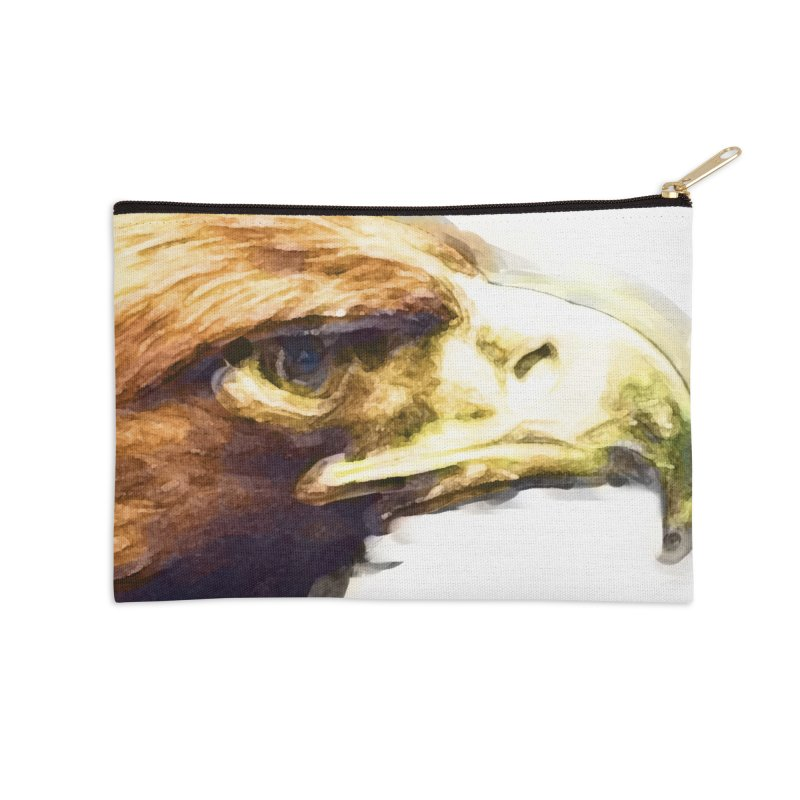 Strength Accessories Zip Pouch by Of The Wild by Kimberly J Tilley