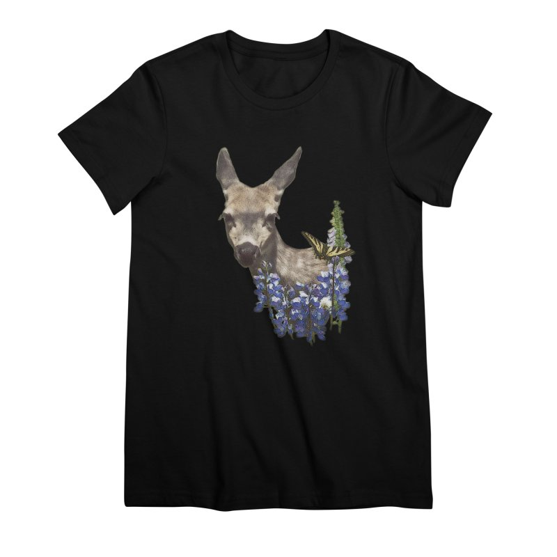 Lady of the Alpine Women's Premium T-Shirt by Of The Wild by Kimberly J Tilley
