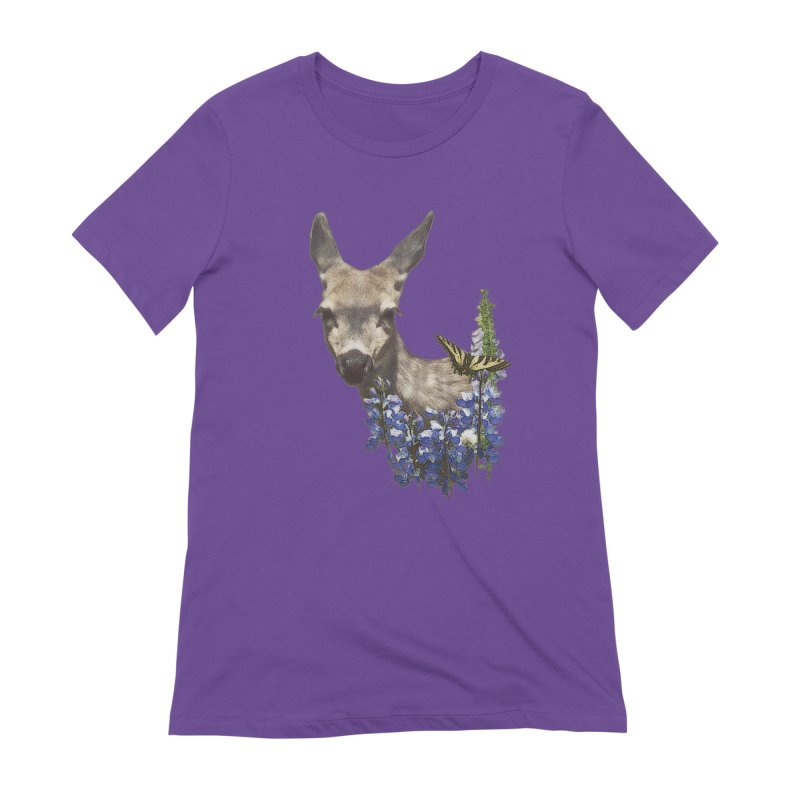 Lady of the Alpine Women's Extra Soft T-Shirt by Of The Wild by Kimberly J Tilley