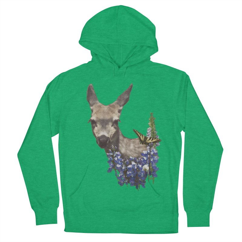 Lady of the Alpine Women's French Terry Pullover Hoody by Of The Wild by Kimberly J Tilley