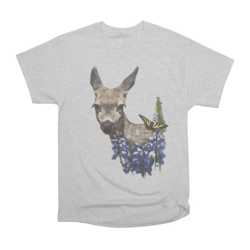 Lady of the Alpine Women's Heavyweight Unisex T-Shirt by Of The Wild by Kimberly J Tilley