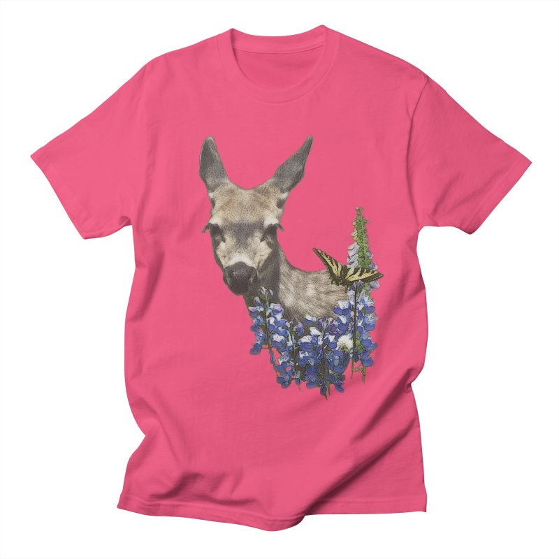 Lady of the Alpine Women's Regular Unisex T-Shirt by Of The Wild by Kimberly J Tilley
