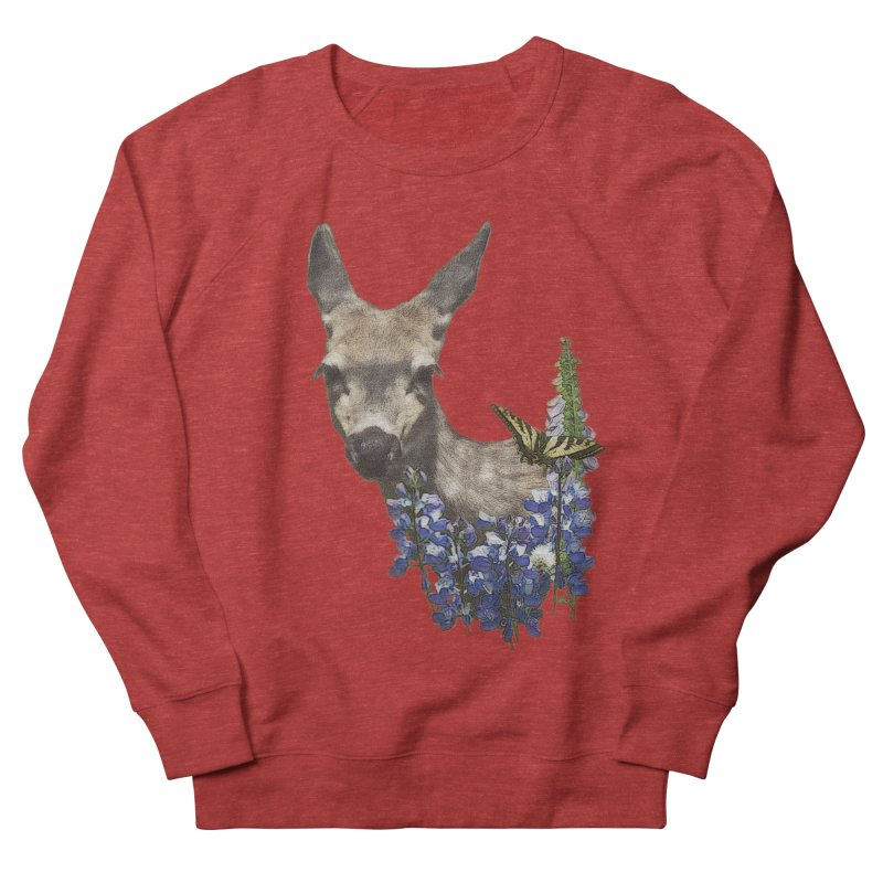 Lady of the Alpine Women's French Terry Sweatshirt by Of The Wild by Kimberly J Tilley