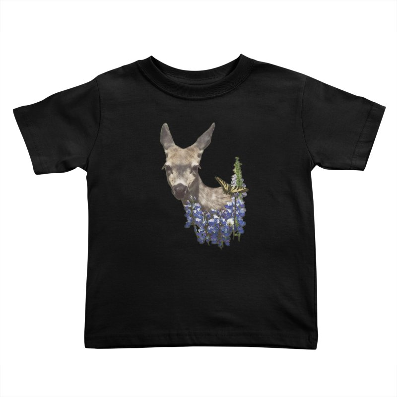 Lady of the Alpine Kids Toddler T-Shirt by Of The Wild by Kimberly J Tilley