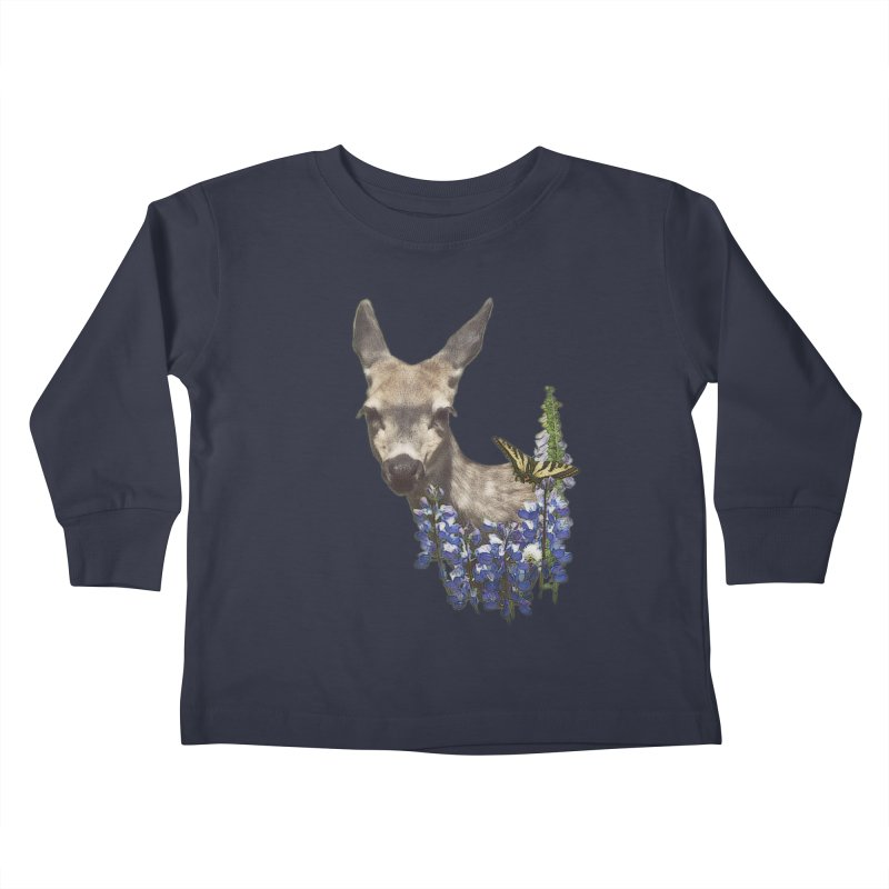 Lady of the Alpine Kids Toddler Longsleeve T-Shirt by Of The Wild by Kimberly J Tilley