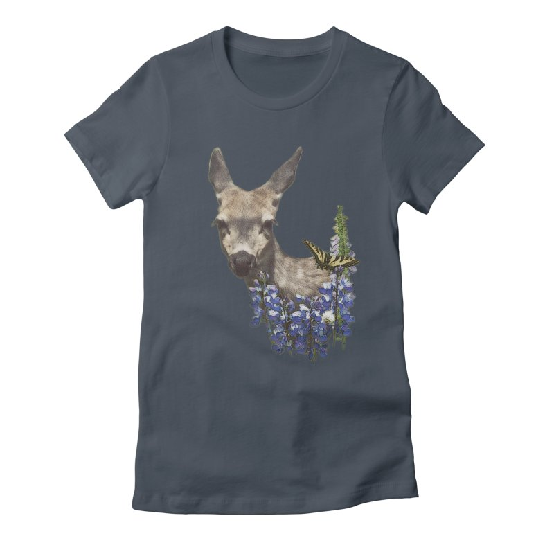 Lady of the Alpine Women's T-Shirt by Of The Wild by Kimberly J Tilley