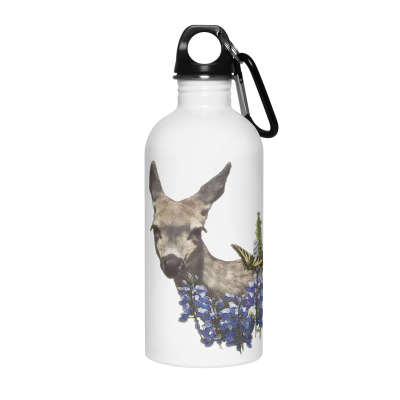 Lady of the Alpine Accessories Water Bottle by Of The Wild by Kimberly J Tilley
