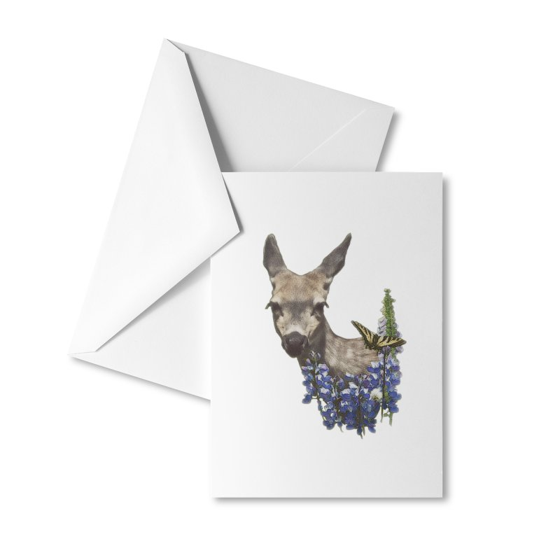 Lady of the Alpine Accessories Greeting Card by Of The Wild by Kimberly J Tilley