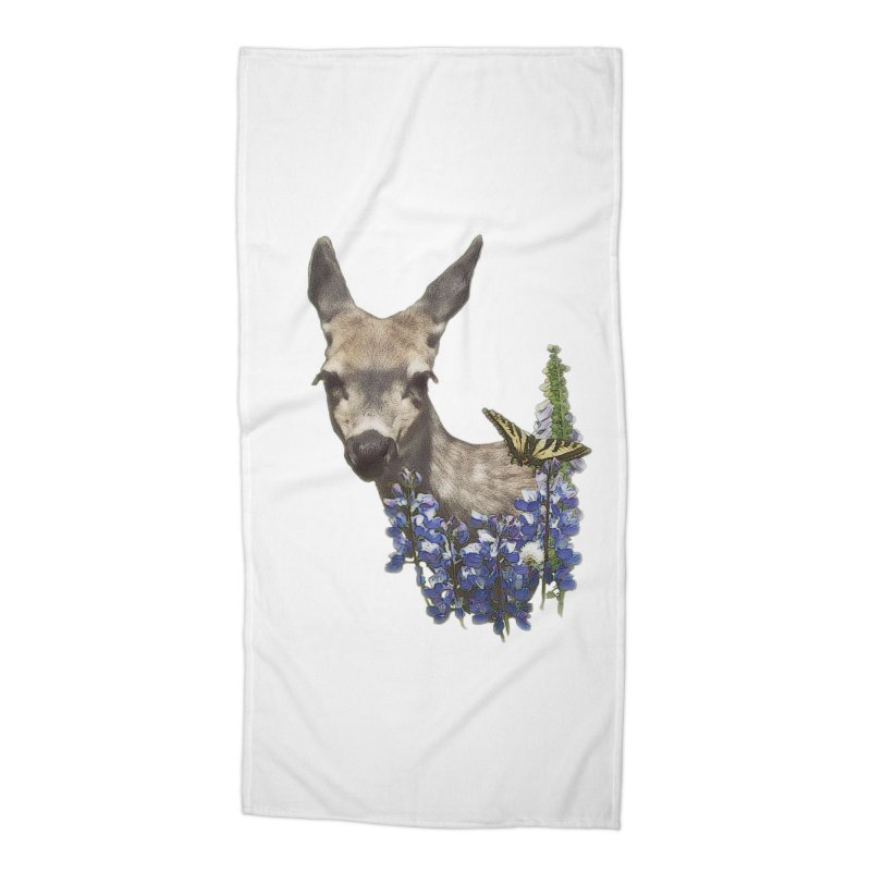 Lady of the Alpine Accessories Beach Towel by Of The Wild by Kimberly J Tilley