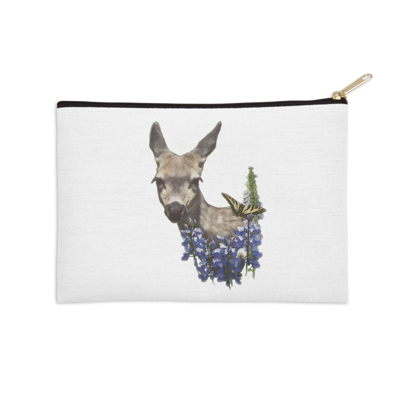 Lady of the Alpine Accessories Zip Pouch by Of The Wild by Kimberly J Tilley