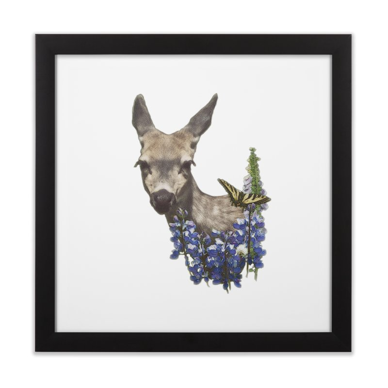 Lady of the Alpine in Framed Fine Art Print Black by Of The Wild by Kimberly J Tilley