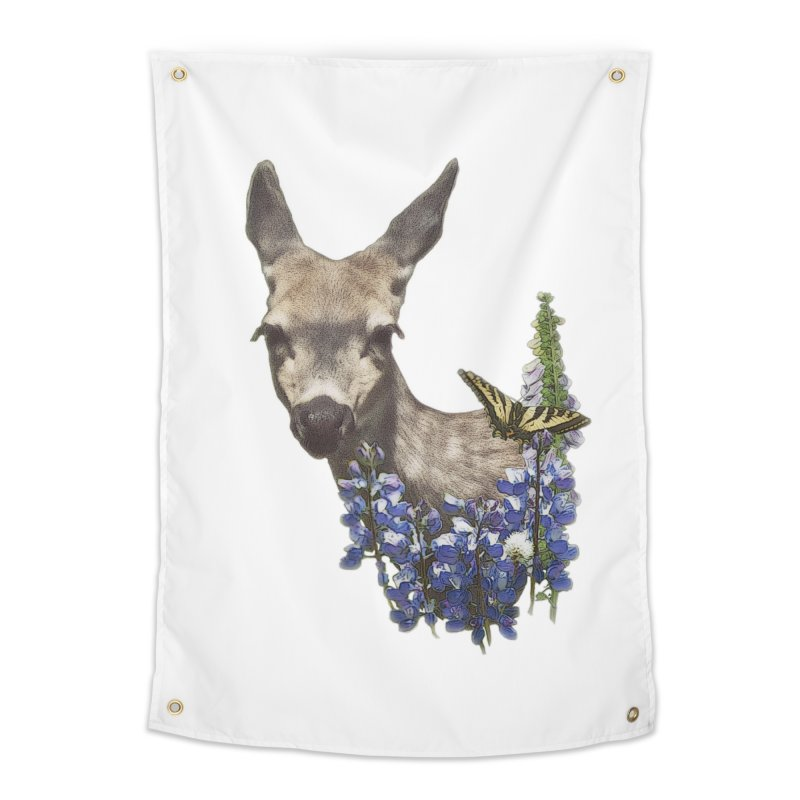 Lady of the Alpine Home Tapestry by Of The Wild by Kimberly J Tilley