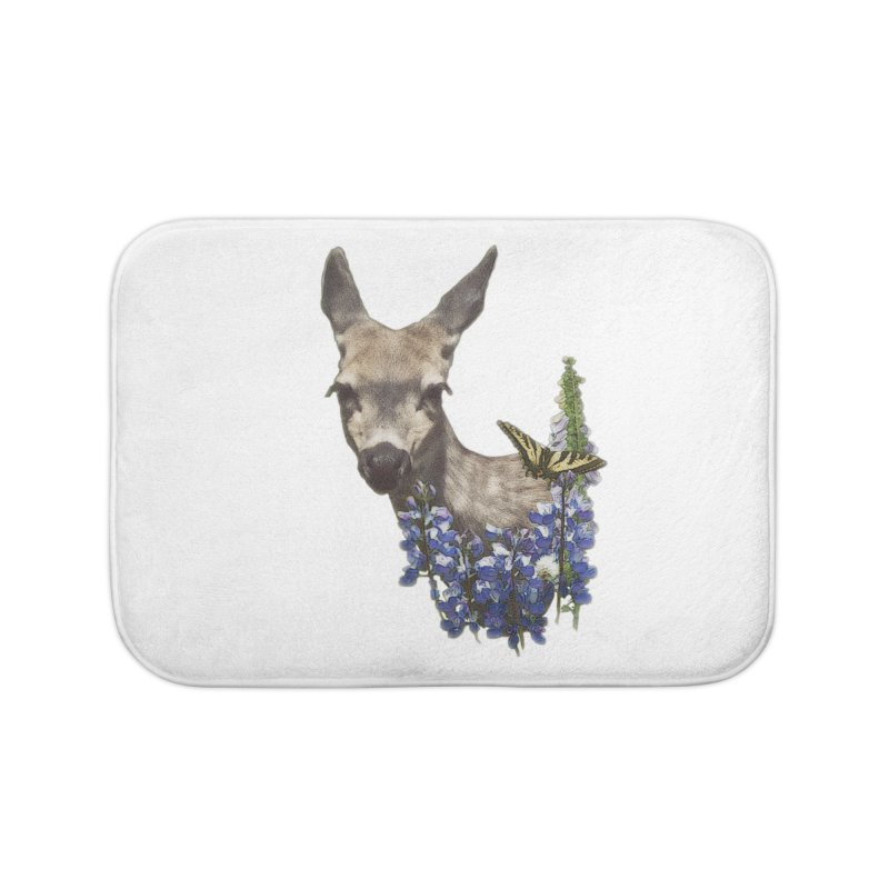 Lady of the Alpine Home Bath Mat by Of The Wild by Kimberly J Tilley