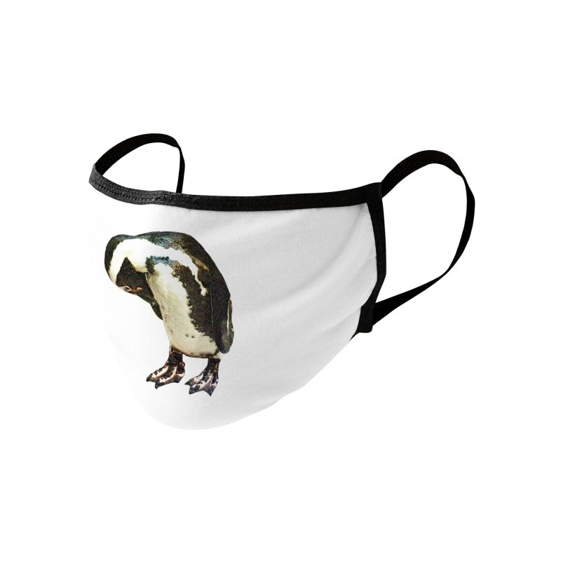 Magellanic Penguin Accessories Face Mask by Of The Wild by Kimberly J Tilley