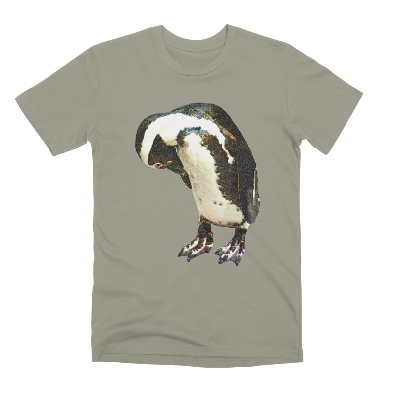 Magellanic Penguin Men's T-Shirt by Of The Wild by Kimberly J Tilley