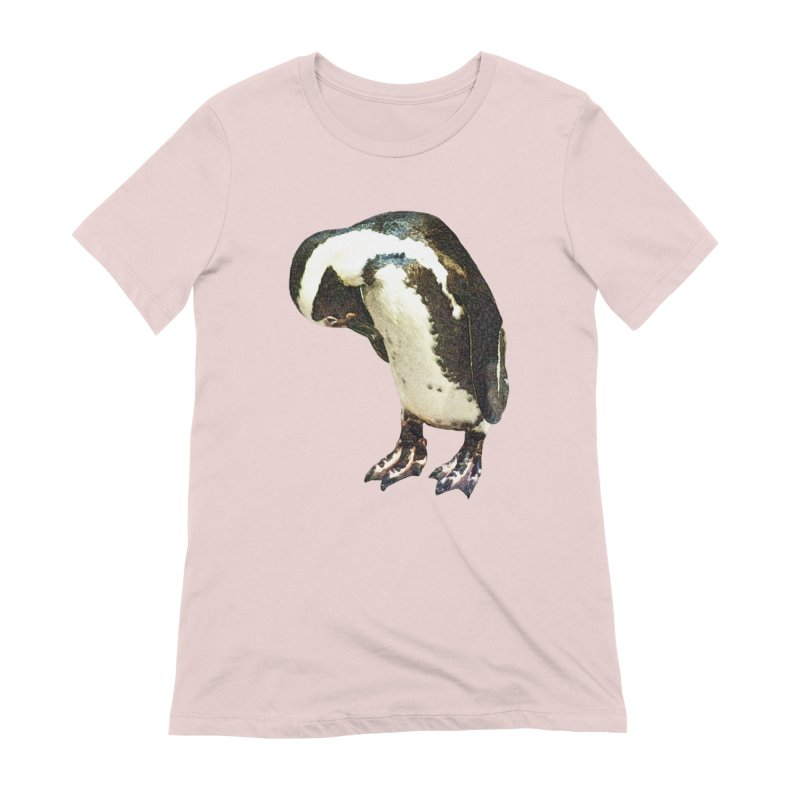 Magellanic Penguin Women's Extra Soft T-Shirt by Of The Wild by Kimberly J Tilley