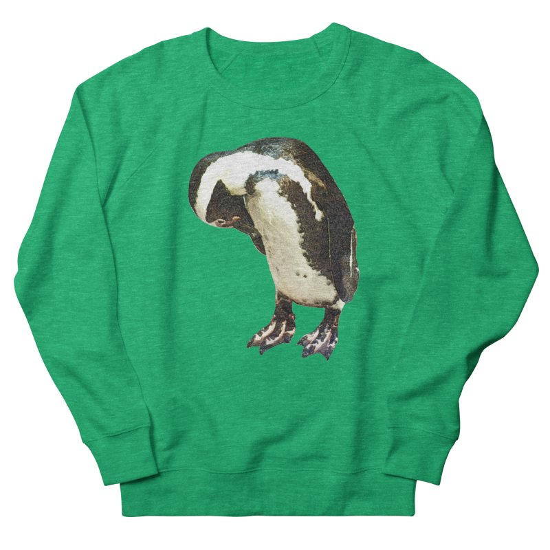 Magellanic Penguin Men's Sweatshirt by Of The Wild by Kimberly J Tilley
