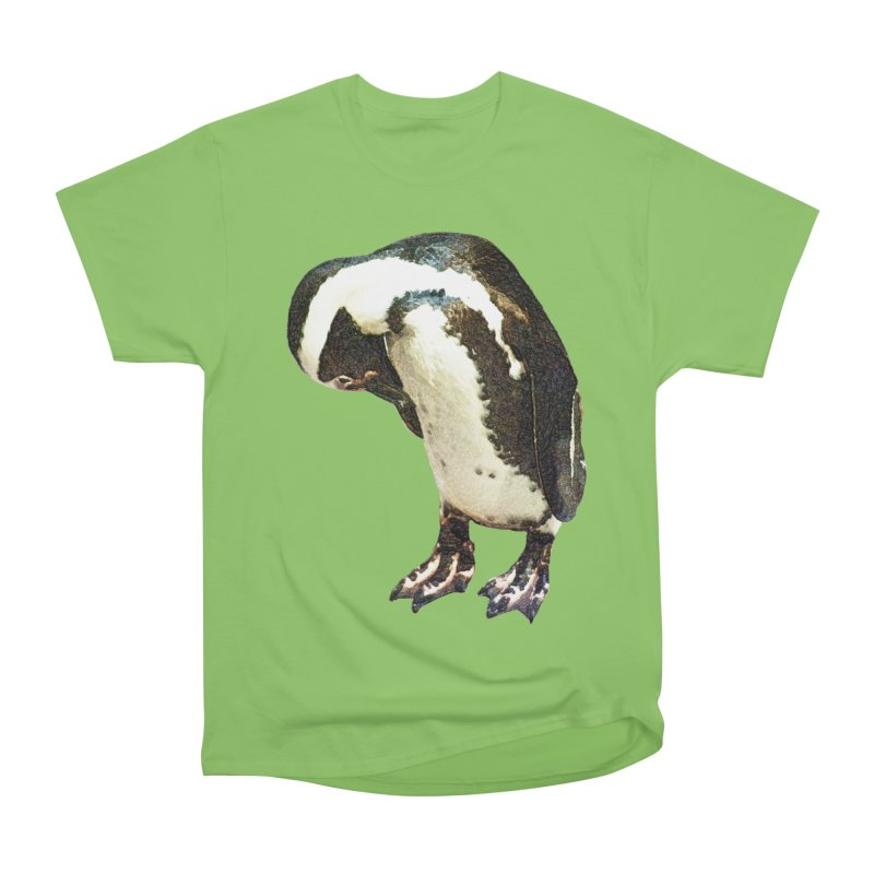 Magellanic Penguin Women's Heavyweight Unisex T-Shirt by Of The Wild by Kimberly J Tilley