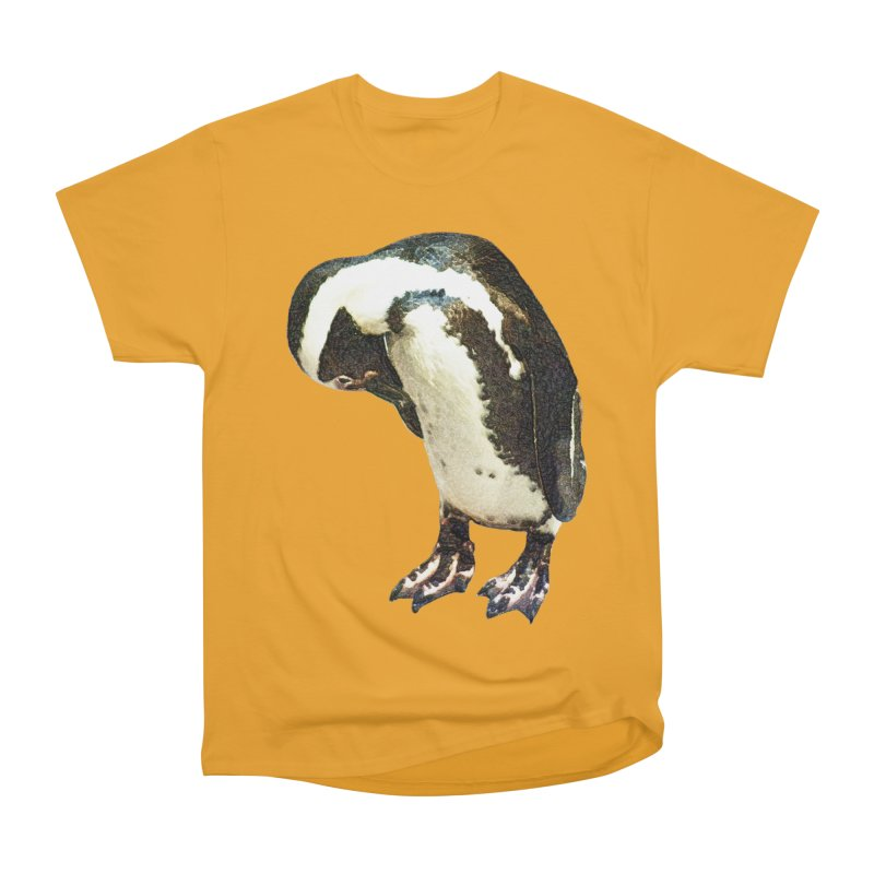 Magellanic Penguin Men's Classic T-Shirt by Of The Wild by Kimberly J Tilley