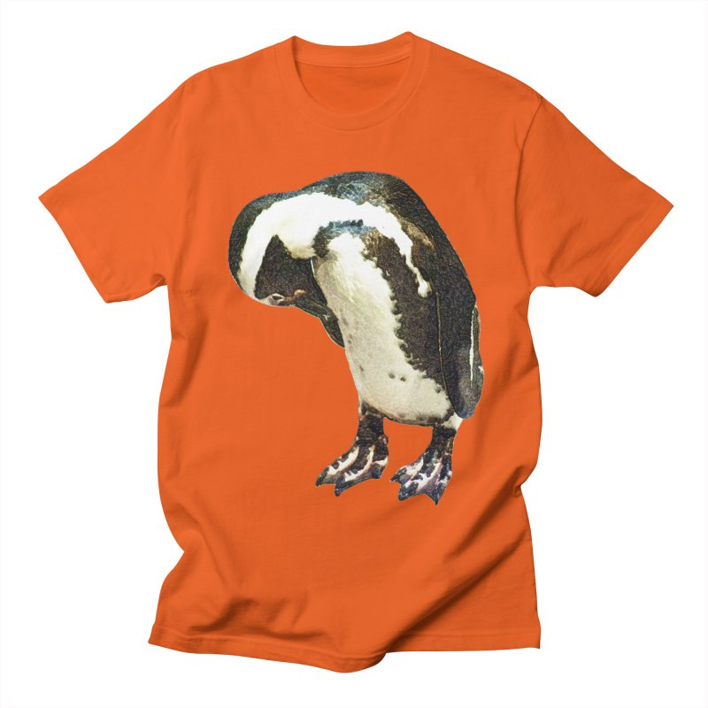 Magellanic Penguin Women's Regular Unisex T-Shirt by Of The Wild by Kimberly J Tilley