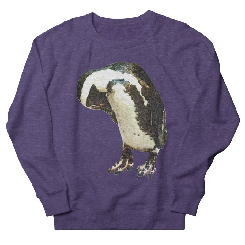 Magellanic Penguin Women's French Terry Sweatshirt by Of The Wild by Kimberly J Tilley