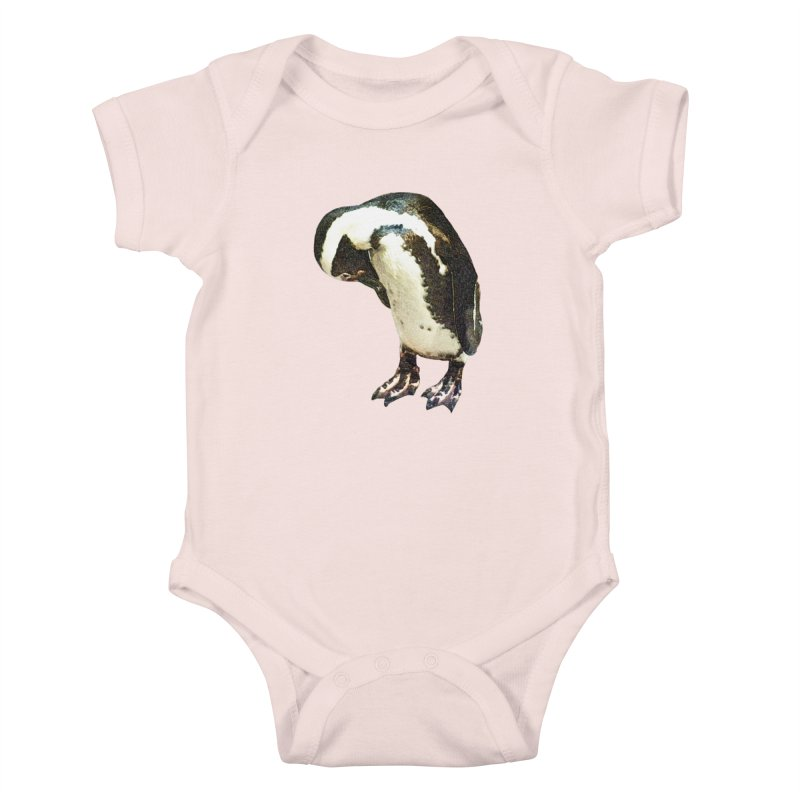Magellanic Penguin Kids Baby Bodysuit by Of The Wild by Kimberly J Tilley
