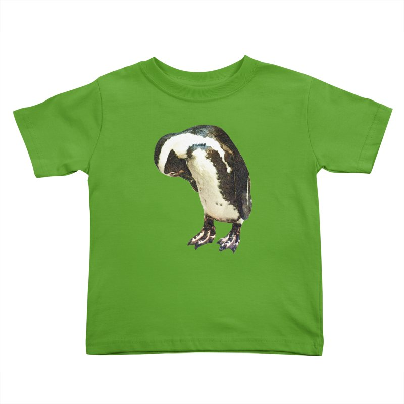 Magellanic Penguin Kids Toddler T-Shirt by Of The Wild by Kimberly J Tilley