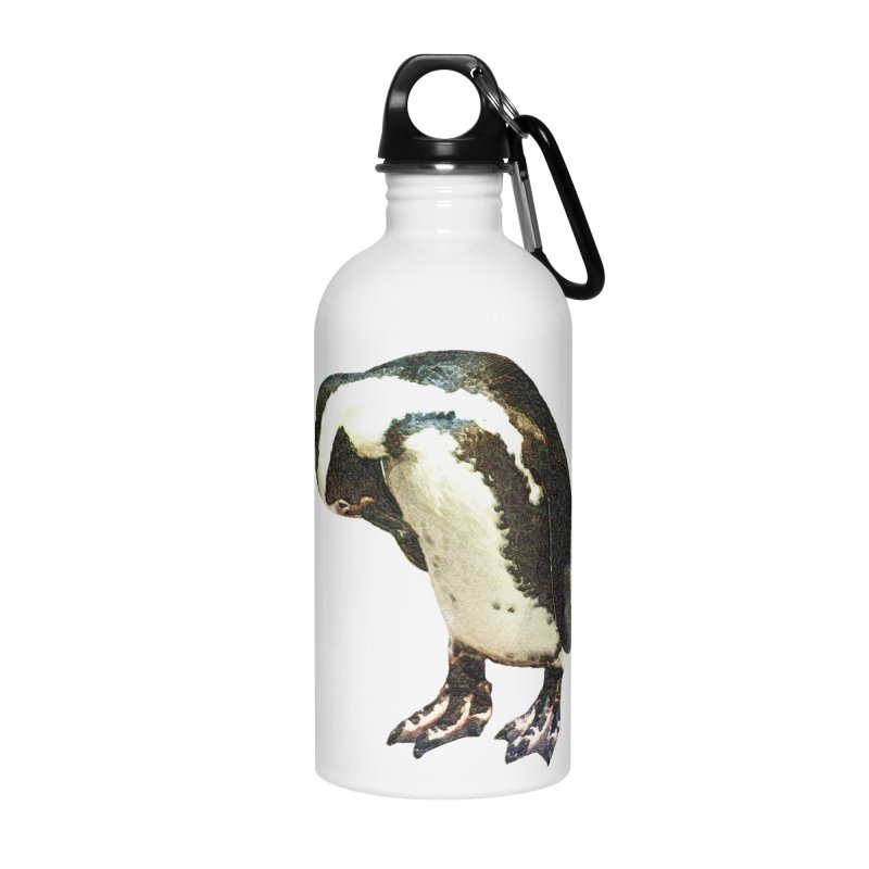 Magellanic Penguin Accessories Water Bottle by Of The Wild by Kimberly J Tilley
